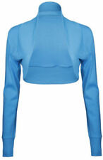 Camisetas de mujer de manga larga color principal azul