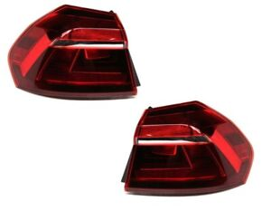FIT VOLKSWAGEN PASSAT 2016-2019 TAILLIGHTS TAIL LIGHTS REAR LAMPS PAIR NEW