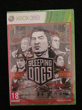 XBOX 360 : SLEEPING DOGS : LIMITED EDITION - Nuovo, sigillato, ITA !