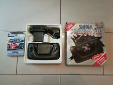 Sega Game Gear Konsole OVP mit TV Tuner voll funktionsfähig 2 Spiele gratis p&p