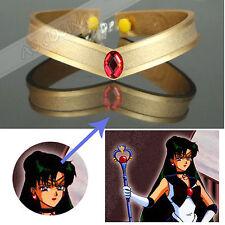 Sailor Moon Meiou Setsuna Sailor Pluto Cosplay Prop Accessory Headwear Headband