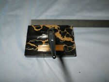 SHEAFFERS MARBLE DESK TOP WITH LIFETIME FOUNTAIN PEN