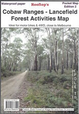 Rooftop Cobaw Ranges - Lancefield  Activities Map *FREE SHIPPING - NEW*