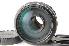 [Excellent+++] Minolta AF Zoom 100-300mm f/4.5-5.6 SLR For Minolta Sony A w/ Cap