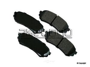 Disc Brake Pad Set-Akebono ProACT Rear WD Express 520 07730 091