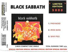 Black Sabbath, Paranoid, NEW/MINT RARE Ltd edition 3 inch CD single