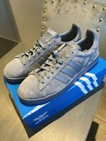 Adidas Originals Men's Steel Blue Campus Trainers Size UK 10 - With Adidas Box