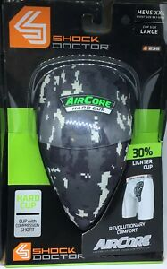 Shock Doctor Supporter with AirCore Hard Cup ADULT XXL WAIST 99-109 LARGE CUP