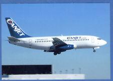 Canjet  Boeing B-737-200 Postcard