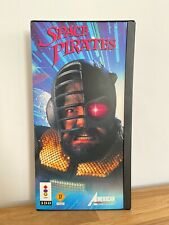 SPACE PIRATES PANASONIC 3DO CIB BIG LONG BOX GOLDSTAR RARE FZ GAME GUN LASERGAME