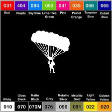 "Parachute Skydiving Army Airborne 6"" Vinyl Decal Sticker Window Car Military"