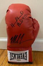 Mike Tyson & Evander Holyfield Dual Signed Everlast Boxing Glove STEINER COA