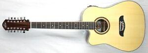 Oscar Schmidt OD312-CE 12 St LEFT HANDED  Acoustic-Electric Guitar   #R8584