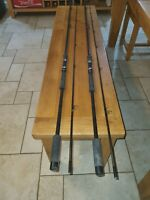 2x Vintage 1980s oldschool 11ft north Western rodcraft carp rods carbon fishing