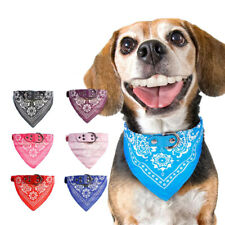 Cute Adjustable Pet Dog Puppy Cat Scarf Neck Scarf Bandana Collar Neckerchief