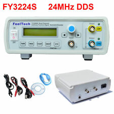 24MHz Dual-Channel Arbitrary Waveform DDS Function Signal Generator FY3224S UK