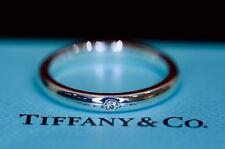 Wedding Eternity Sterling Silver Fine Diamond Rings