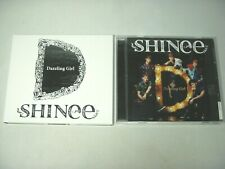 SHINee Dazzling Girl CD 2 Set Japan Regular Edition + Limited Edition