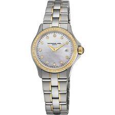 RAYMOND WEIL Parsifal Oro Y Diamante señoras reloj 9460-SGS-97081 - PVP 2825 € Nuevo