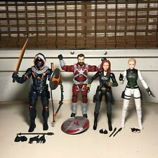 "Marvel Legends MCU Black Widow Movie 4 Figure LOT Crimson Dynamo 6"" BAF Series"