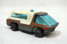 Vintage Hot Wheels RedLine 1969 Heavyweight Ambulance Copper Diecast Truck