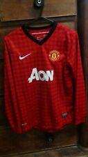 Manchester United Home Football Shirt Jersey 2012-2013 Medium Boys 10-12 Years
