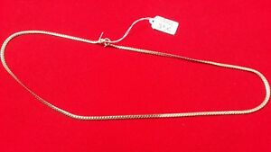 Kette Halskette Massiv Silber Kette Kühlspirale Flach REF42142