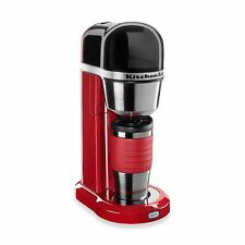 Empire Red Electric Home Coffee Maker Machine Personal Brewer Mug Compact Sleek