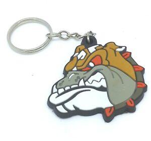 Bulldog Dog Key Ring Keychain Keyrings Bags Purse Wallet Chain Animal