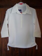 BRAND NEW GIRLS WHITE FASHION BLOUSES AGE 8-9 YEARS