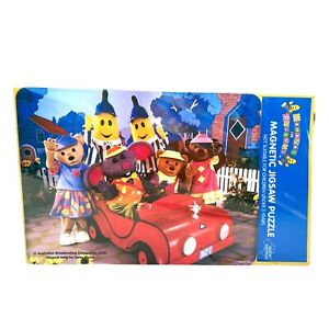BANANAS IN PYJAMAS Magnetic Jigsaw Puzzle ABC Kids Made in Australia Vintage