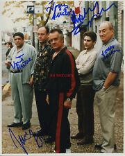 THE SOPRANOS SIGNED CAST PHOTO JAMES GANDO Signed 8x10 Autographed Photo Reprint