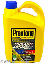 Prestone Pre mixed 50:50 Engine Coolant & Anti-Freeze 4L Protects -37° +129°