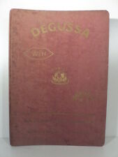 Degussa deutsche gold und silber scheideanstalt, ortodonzia, protesi dentarie