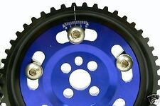 OBX Blue Adjustable Cam Gear Sprocket for 1989-1991 Nissan 180SX CA18DET JDM