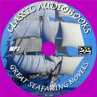 12 CLASSIC SEAFARING NOVELS MP3 AUDIO BOOKS UNABRIDGED ENGLISH NEW PC DVD CRUSOE