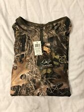 True Timber Youth 1/4 Zip Pullover Size Large