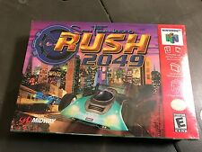 San Francisco Rush 2049 (Nintendo 64, 2000) N64 Brand New Sealed