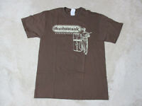 NEW Hoobastank Concert Shirt Adult Medium Brown Band Tour Rock N Roll Music Mens