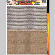 Light Brick Style 2 Scale Model Diorama Decal Scenery Details 1/24 - 1/64