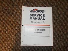 New Mercury Mercruiser Quicksilver Oem Part # 90-898164008 Manual-Parts