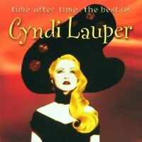 """CYNDI LAUPER """"TIME AFTER TIME: THE BEST OF"""" CD NEW"""