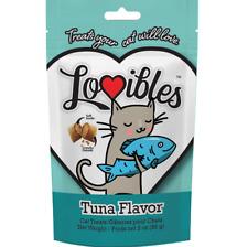 Lovibles Tuna Flavor Cat Treats Healthy Cat Food 3 oz