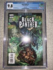 Black Panther #1 - 9.8 CGC - 2nd Print Variant - 1st Shuri as Black Panther