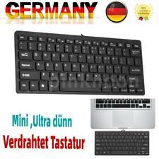 Mini Verdrahtet USB-Tastatur 78 Tasten PC Computer Tastatur Wired USB Keyboard