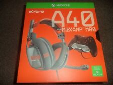 Astro A40 Gen2 Headset ( Orange ) with Xbox One Adaptor - Used