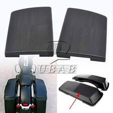 """2x Saddlebag 6X9"""" Lid Speaker Grill Covers for Harley Street Glide FLHX 96-13"""