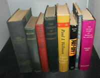 Vintage History and Government Books – Set of eight