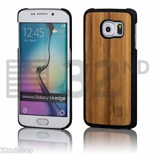 32nd Ultra Slim Wooden Back Case Cover for Samsung Galaxy PHONES Real Wood Bamboo Galaxy S6 Sm-g920
