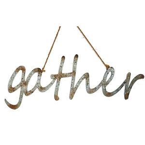 Hanging Word - Gather